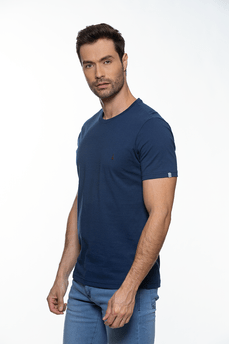T-Shirt-Tshirt-Basic-Azul