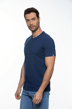 T-Shirt-Tshirt-Basic-Azul