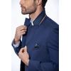 Vestidos-Slim-Fit-Con-Chaleco--Azul