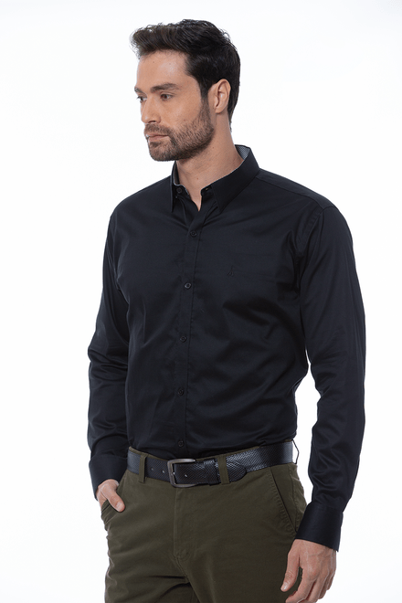 Camisa-Manga-Larga-Sport-Negro