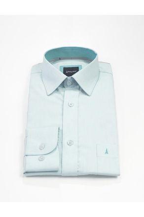 Camisa-Manga-Larga-Clasica--Azul