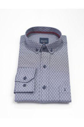 Camisa-Manga-Larga-Sport--Azul