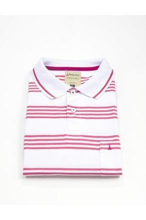 Camiseta-Polo-Mc-Rayas-Rosado