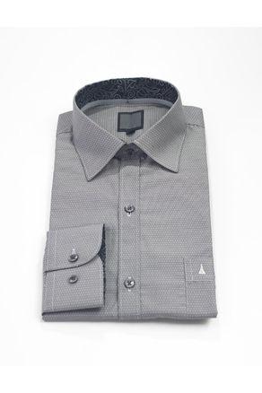 Camisa-Manga-Larga-Clasica--Negro